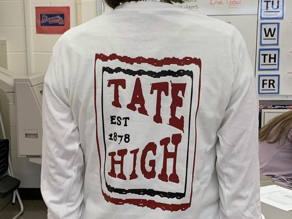 white long sleeve back